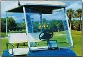 WindyShield Golf Cart Windshield